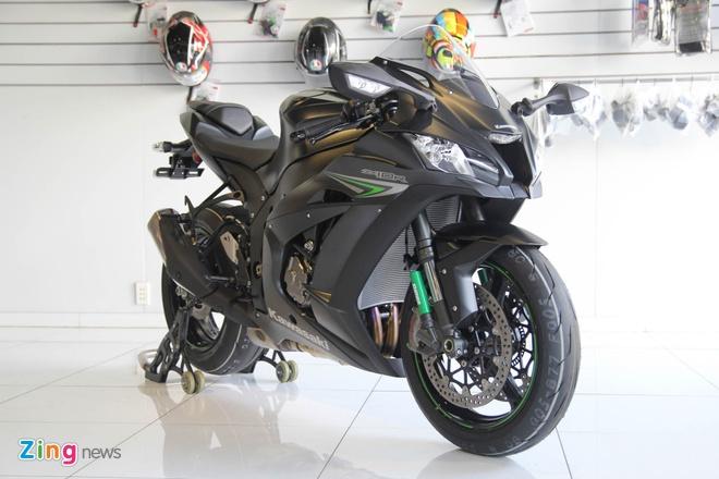 Sieu moto Kawasaki ZX-10R mau moi ve Viet Nam hinh anh 2