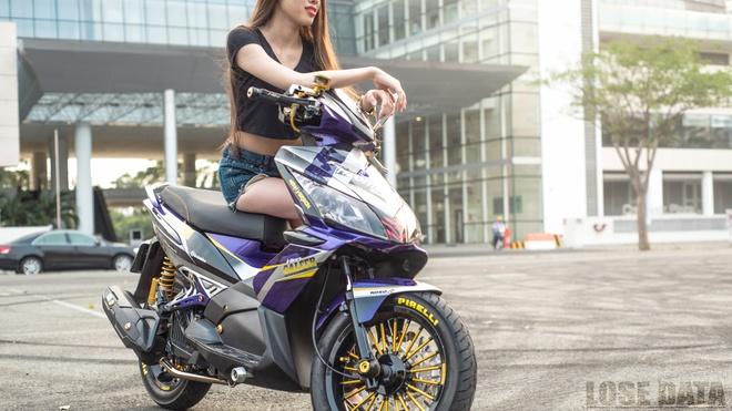 Honda Air Blade do do choi hieu cua biker Sai Gon hinh anh 1