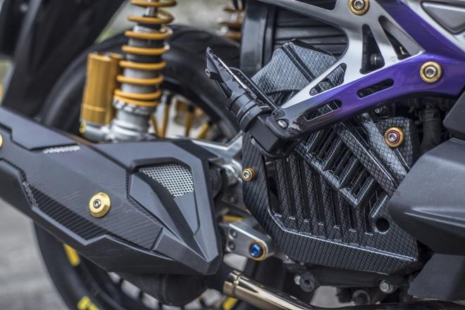 Honda Air Blade do do choi hieu cua biker Sai Gon hinh anh 10