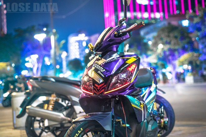 Honda Air Blade do do choi hieu cua biker Sai Gon hinh anh 11