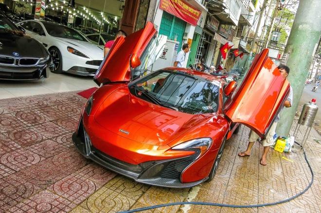 Chi tiet sieu xe McLaren 650S Spider thu 3 tai Viet Nam hinh anh