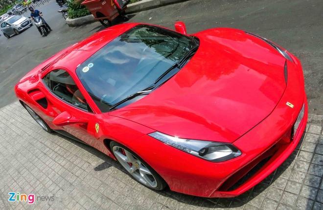 Sieu xe Ferrari 488 GTB mau do thu 2 tren 14 ty o Sai Gon hinh anh 11