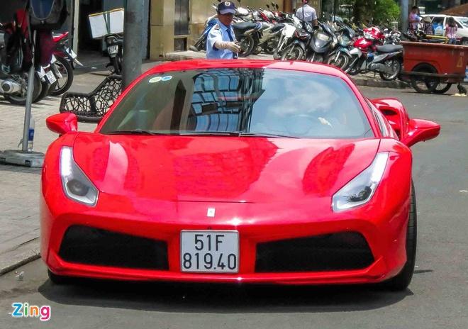 Sieu xe Ferrari 488 GTB mau do thu 2 tren 14 ty o Sai Gon hinh anh 2