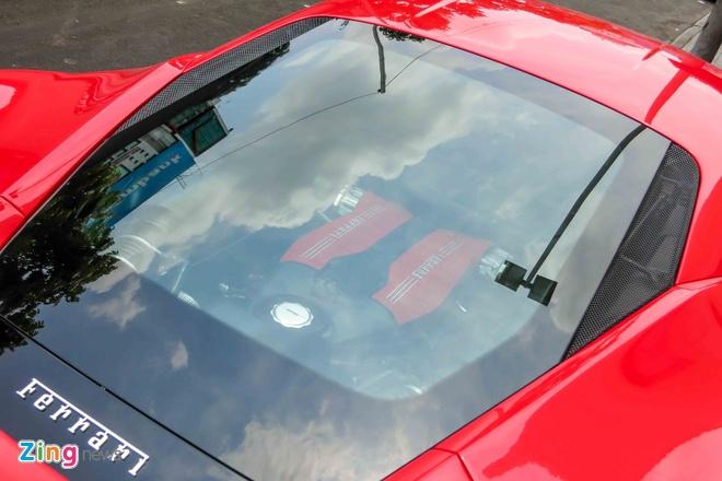 Sieu xe Ferrari 488 GTB mau do thu 2 tren 14 ty o Sai Gon hinh anh 5