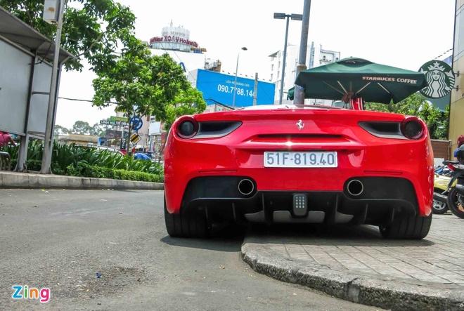 Sieu xe Ferrari 488 GTB mau do thu 2 tren 14 ty o Sai Gon hinh anh 6