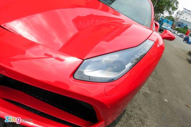 Sieu xe Ferrari 488 GTB mau do thu 2 tren 14 ty o Sai Gon hinh anh 8