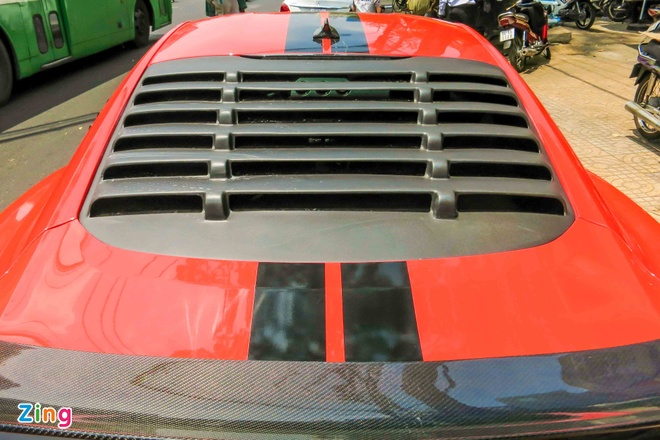 Ford Mustang do than vo soi carbon o Sai Gon hinh anh 12