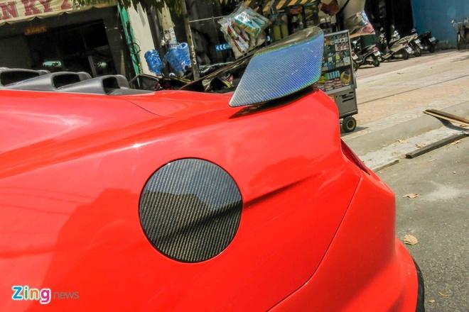 Ford Mustang do than vo soi carbon o Sai Gon hinh anh 13