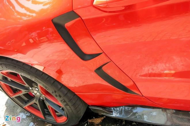 Ford Mustang do than vo soi carbon o Sai Gon hinh anh 14