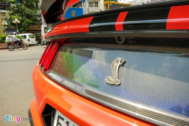 Ford Mustang do than vo soi carbon o Sai Gon hinh anh 9