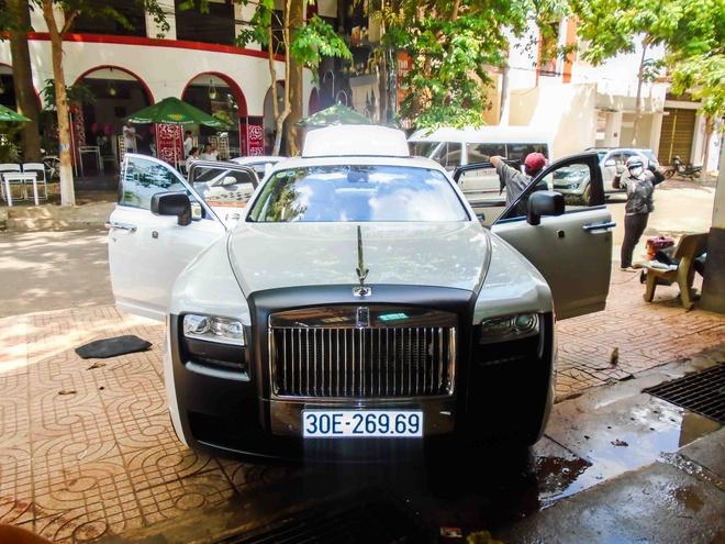 Rolls-Royce Ghost do la mat o Dak Lak hinh anh 1