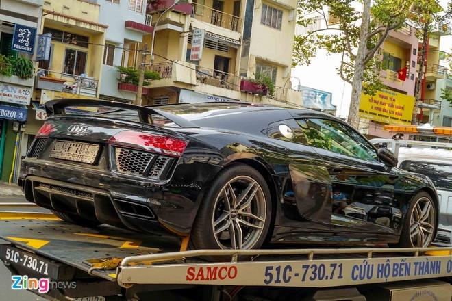 Sieu xe Audi R8 V10 Plus thu 2 manh 601 ma luc ve Viet Nam hinh anh 1