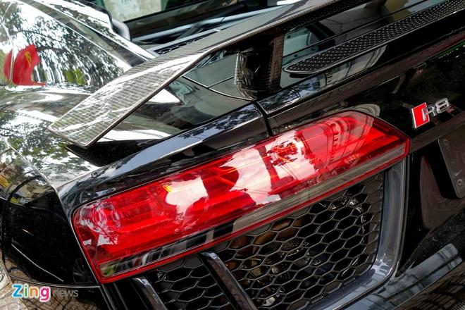 Sieu xe Audi R8 V10 Plus thu 2 manh 601 ma luc ve Viet Nam hinh anh 11