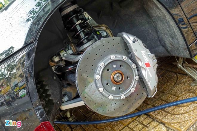 Sieu xe Audi R8 V10 Plus thu 2 manh 601 ma luc ve Viet Nam hinh anh 7