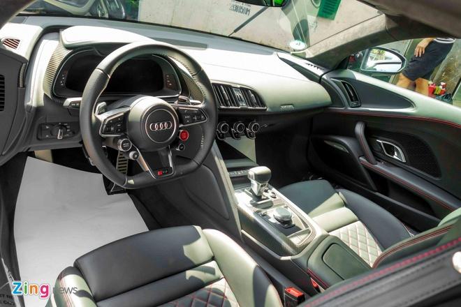 Sieu xe Audi R8 V10 Plus thu 2 manh 601 ma luc ve Viet Nam hinh anh 8