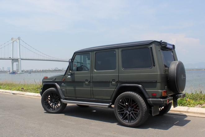 Mercedes G300 do o Da Nang anh 3