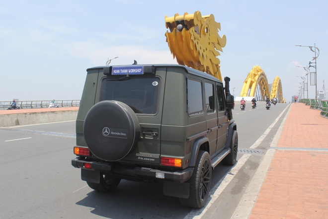 Mercedes G300 do o Da Nang anh 6