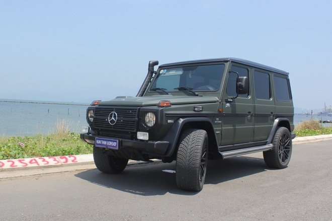 Mercedes G300 do o Da Nang anh 10