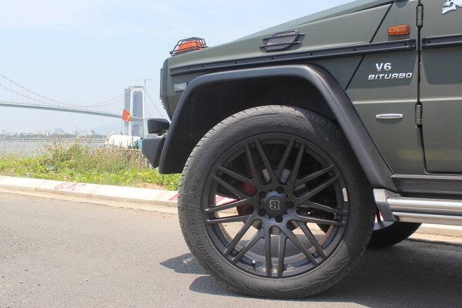 Mercedes G300 do o Da Nang anh 5