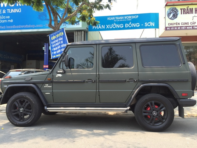 Mercedes G300 do o Da Nang anh 4