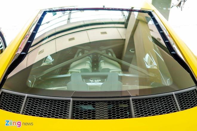 Sieu xe Audi R8 V10 Plus vang nham duy nhat Viet Nam hinh anh 5