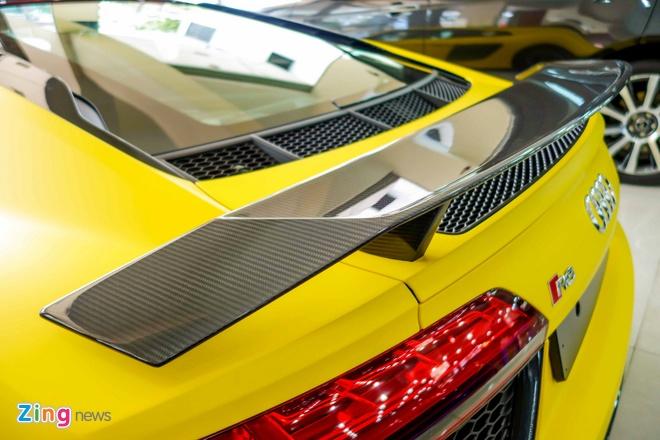 Sieu xe Audi R8 V10 Plus vang nham duy nhat Viet Nam hinh anh 7