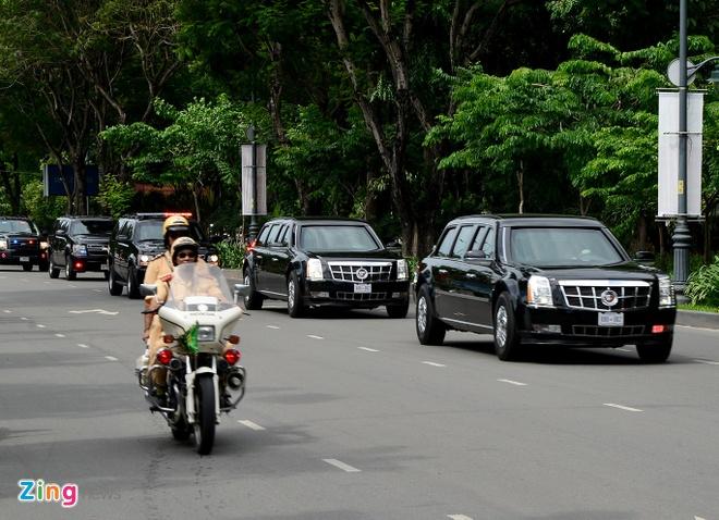 Tong thong Obama co bao nhieu Cadillac One? hinh anh 1