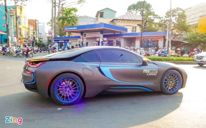 BMW i8 do decal o Sai Gon anh 1