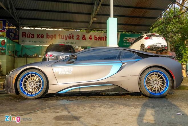 BMW i8 do decal o Sai Gon anh 11