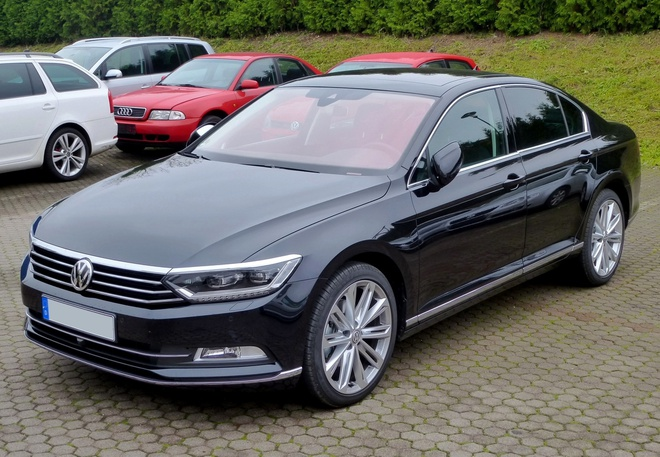 Volkswagen Passat - doi thu Camry sap ra mat tai Viet Nam hinh anh
