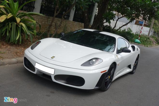 Ferrari mau trang du chung loai cua dai gia Viet hinh anh 3