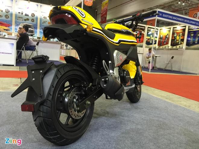Xe con tay Trung Quoc 125cc, canh tranh Honda MSX o VN hinh anh 2