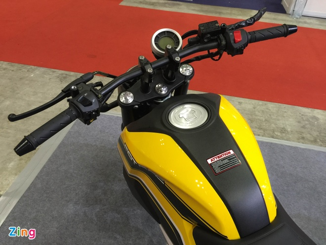 Xe con tay Trung Quoc 125cc, canh tranh Honda MSX o VN hinh anh 4