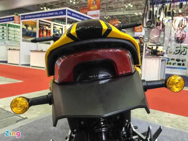 Xe con tay Trung Quoc 125cc, canh tranh Honda MSX o VN hinh anh 8