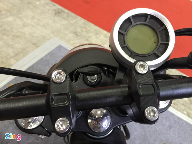 Xe con tay Trung Quoc 125cc, canh tranh Honda MSX o VN hinh anh 9