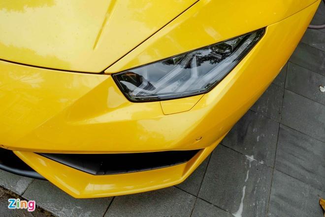 Sieu xe Lamborghini Huracan truoc nha Cuong Dola hinh anh 6