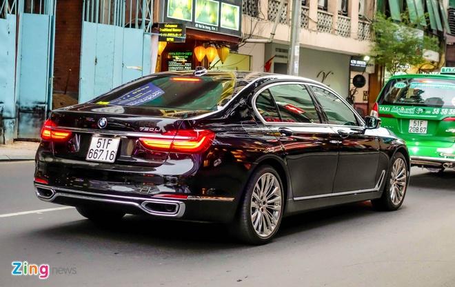 gia BMW 750Li den laser tai Viet Nam anh 8