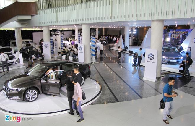 Volkswagen tu to chuc trien lam tai TP HCM hinh anh 1