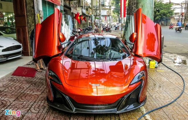 McLaren 650S mui tran cua dai gia Sai Gon khoac ao moi hinh anh 8