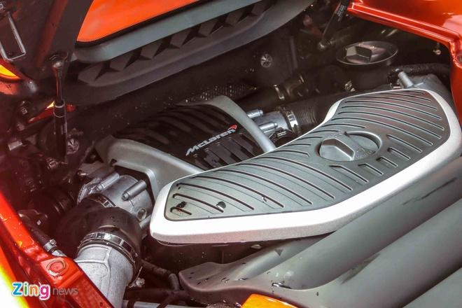 McLaren 650S mui tran cua dai gia Sai Gon khoac ao moi hinh anh 5