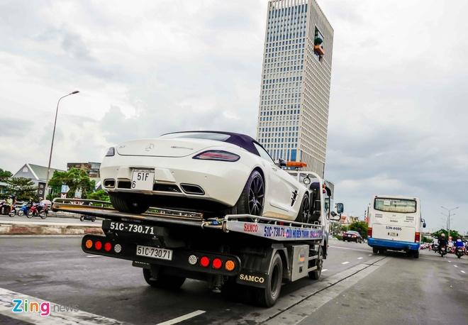 Mercedes SLS mui tran dau tien Viet Nam anh 5