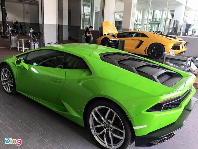 Sua chua sieu xe Lamborghini o Viet Nam anh 14