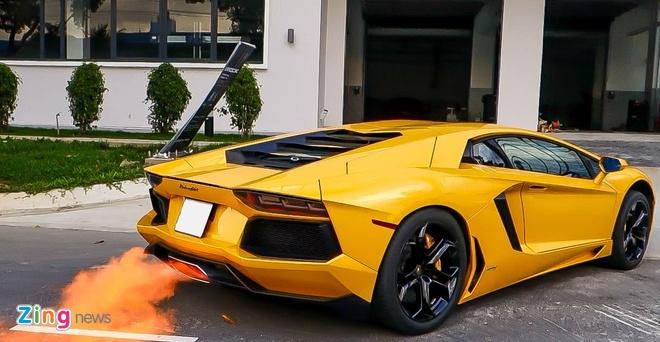 Sua chua sieu xe Lamborghini o Viet Nam anh 18