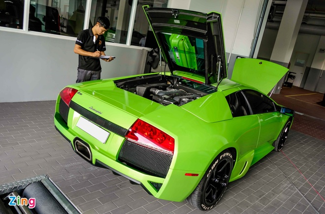 Sua chua sieu xe Lamborghini o Viet Nam anh 6