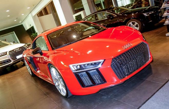 Chi tiet Audi R8 V10 Plus 2016 dau tien tai Viet Nam hinh anh
