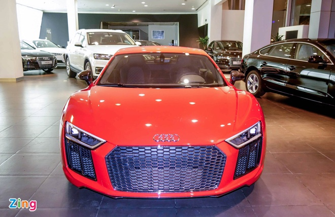 Chi tiet Audi R8 V10 Plus 2016 dau tien tai Viet Nam hinh anh 1