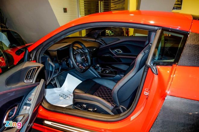 Chi tiet Audi R8 V10 Plus 2016 dau tien tai Viet Nam hinh anh 12