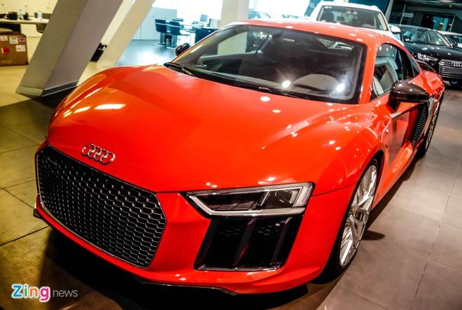 Chi tiet Audi R8 V10 Plus 2016 dau tien tai Viet Nam hinh anh 4