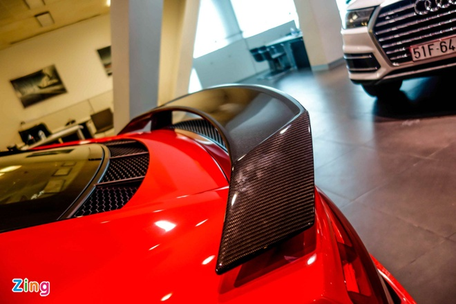 Chi tiet Audi R8 V10 Plus 2016 dau tien tai Viet Nam hinh anh 14