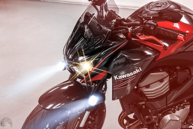 Kawasaki Z800 do phong cach ham ho o Sai Gon hinh anh 7